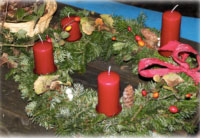 adventkranzbinden